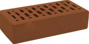Кирпич коричневый гладкий М 150 Rauf Fassade
