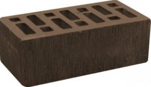 Кирпич коричневый рифленый полуторный Починки