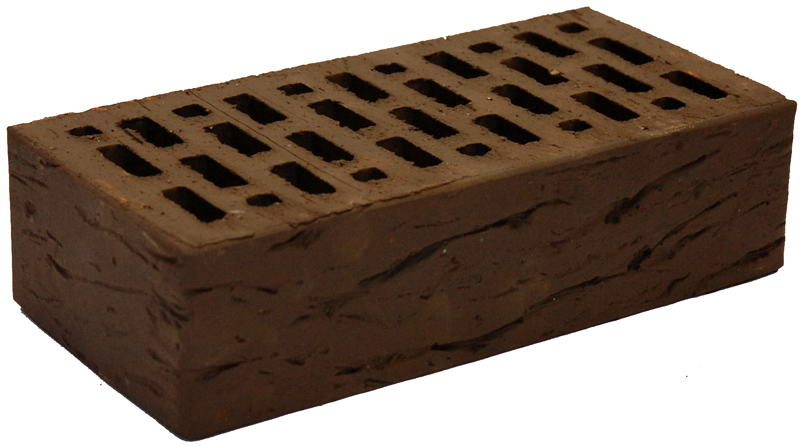 Кирпич коричневый риф М 150 BRAER