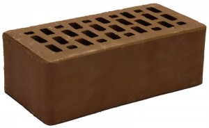Кирпич какао гладкий полуторный М 150 Terex