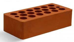 Кирпич красный гладкий М 150 Кашира