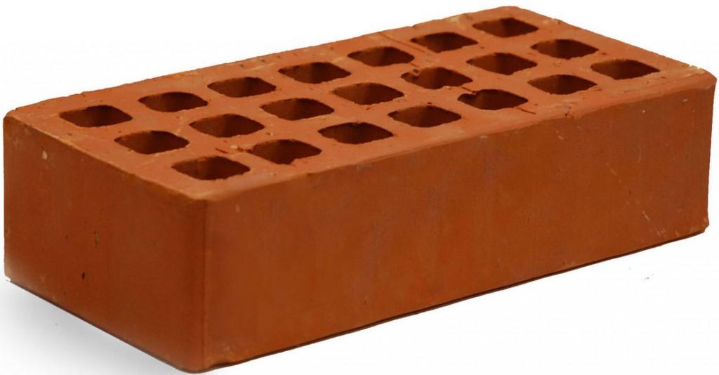 Кирпич рядовой щелевой гладкий М 150 Михнево