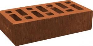 Кирпич красный рифленый М 125 Починки