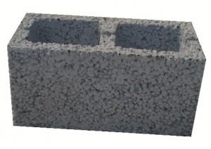 Блок стеновой керамзитобетонный М 25 Rosser 390*190*188
