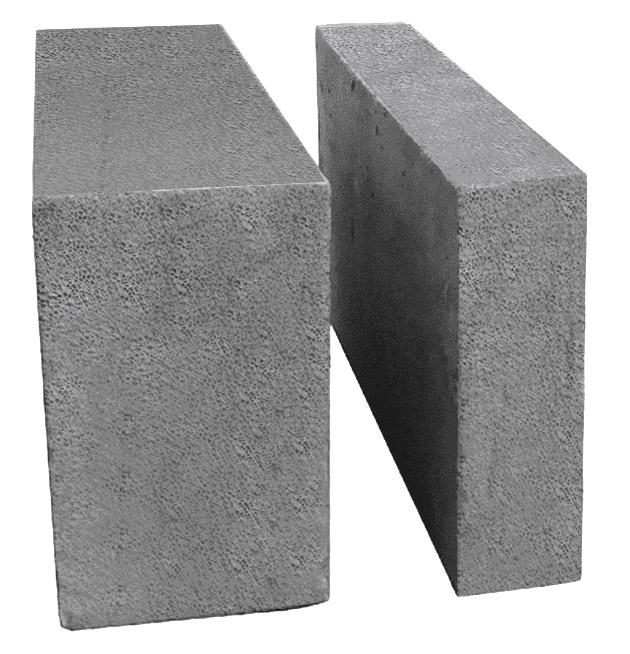 Блок стеновой пенобетонный D 600 Коломна 600*300*200