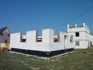 Строительство из газобетонных блоков