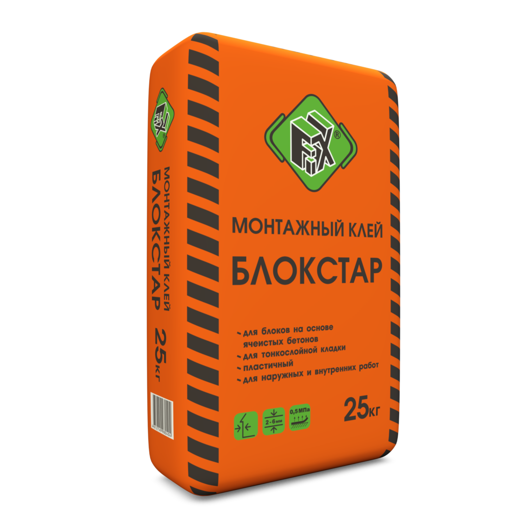 Клей монтажный БЛОКСТАР FIX